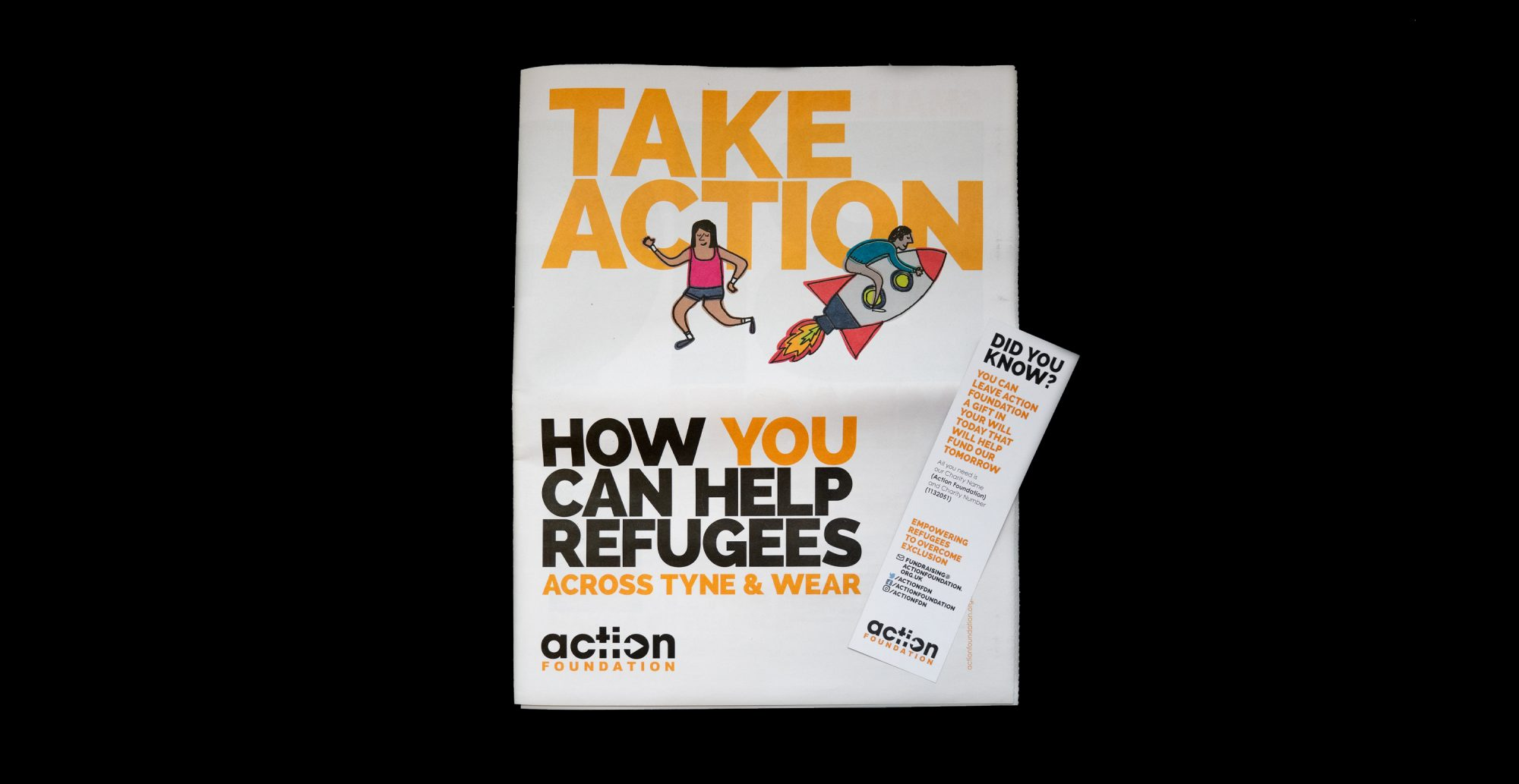 Action Foundation Launch New Fundraising Pack