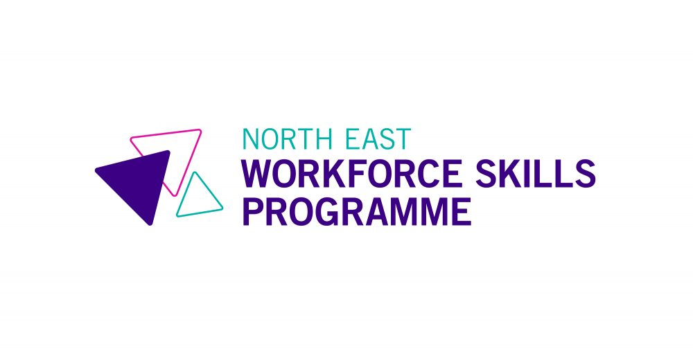 North East Workforce Skills Programme logo by Everything