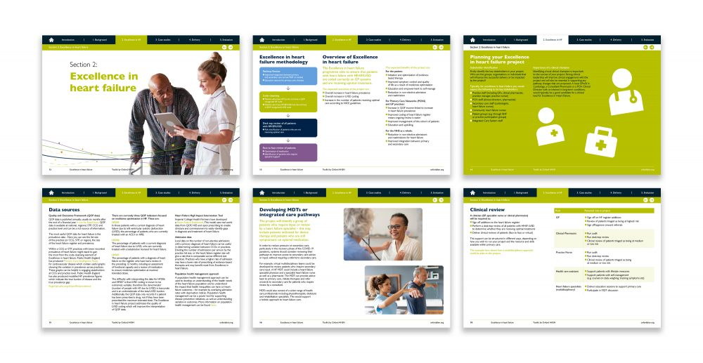 Oxford AHSN toolkit inner pages